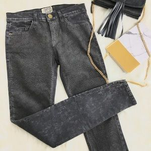 CURRENT ELLIOTT Harlem coated skinny jeans